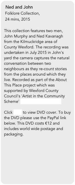 Ned and John