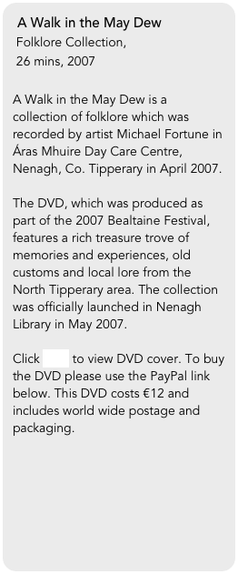 A Walk in the May Dew