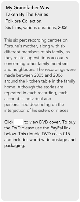 My Grandfather Was 
